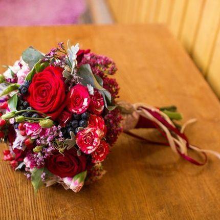 Свадебный букет по индивидуальному эскизу