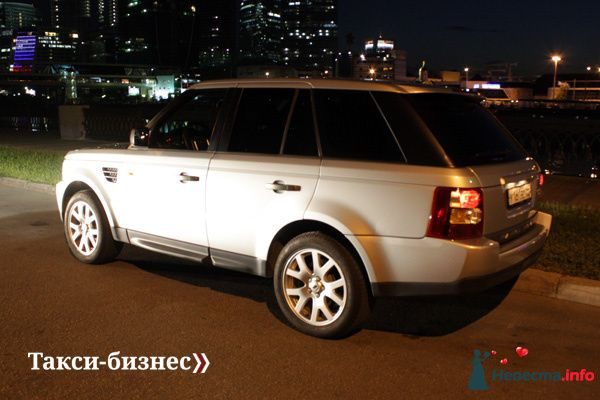 Такси Range Rover Sport