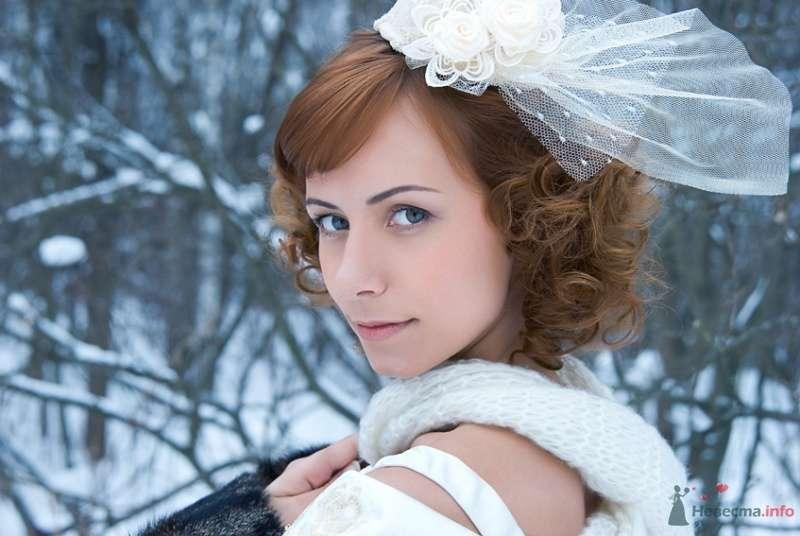 Фото 70545 в коллекции Свадебный образ: свадебная прическа и макияж - Стилист-визажист Кандалова Елена