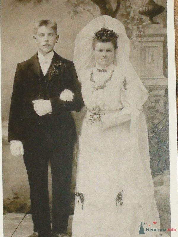 Лютеранская свадьба в Латвии, Бауск, 1908 г. - фото 60313 Солнышонок