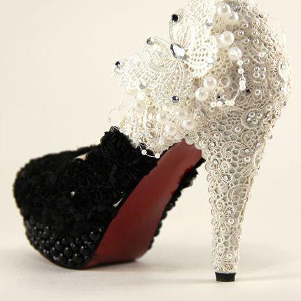 """Свадебные и вечерние туфли - модель """"Ванда"""""""