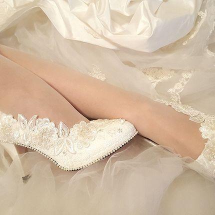 """Свадебные туфли - модель """"Лелия"""""""