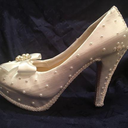 """Свадебные туфли """"Свежесть"""""""