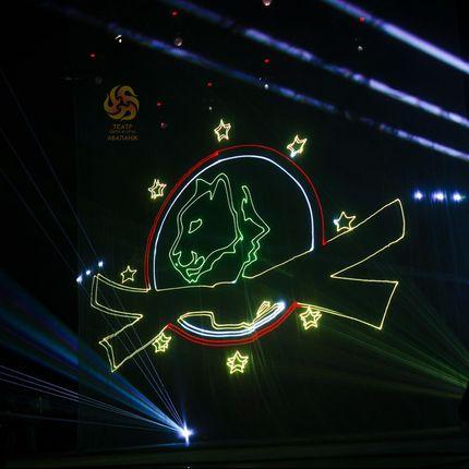 Крупномасштабное лазерное шоу