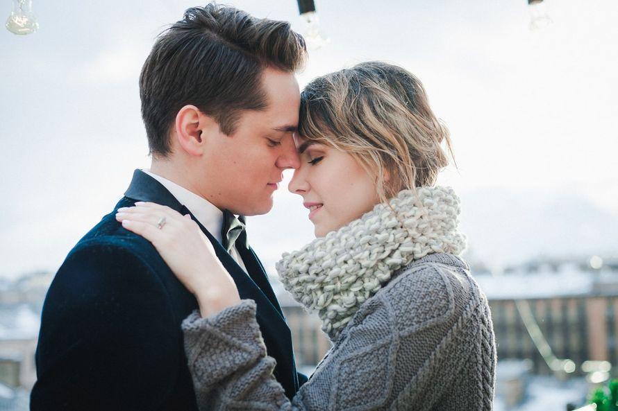 Жених и невеста, зимняя фотосессия - фото 13396298 Фотограф Юлия Sweet-kadr