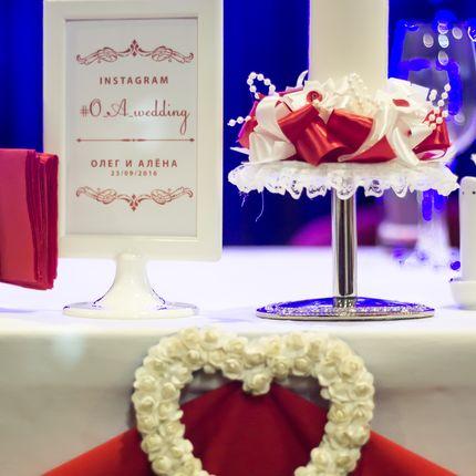 Оформление зала + эскиз свадебного торта