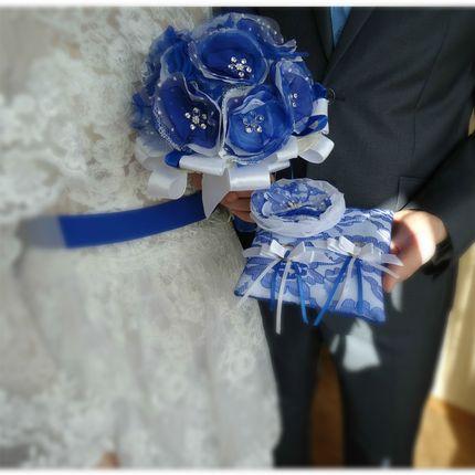 Свадебный комплект аксессуаров из 3 позиций