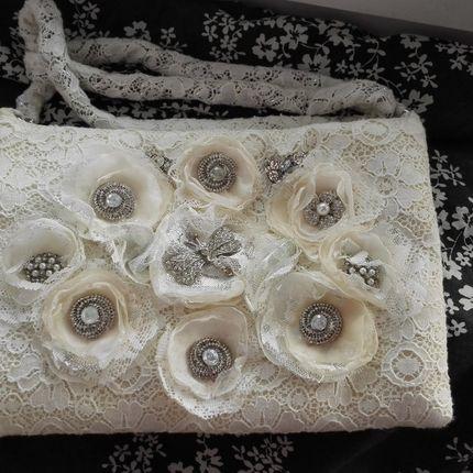 Кружевная сумочка 25х15 см