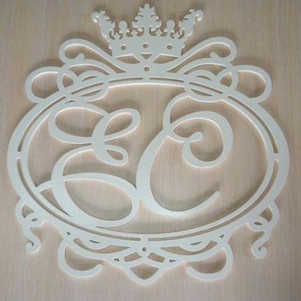 Фамильный герб, свадебная монограмма