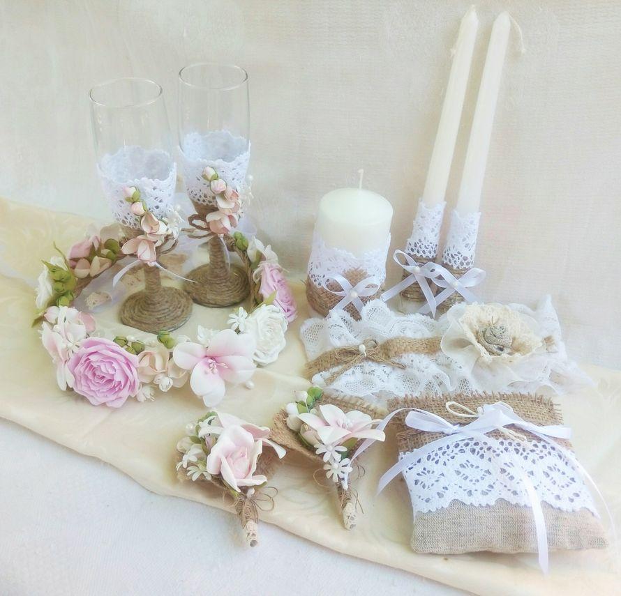 Фото 11859428 в коллекции Свадьба в стиле Рустик - Art handmade by Kate - творческая мастерская