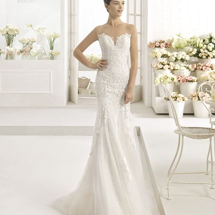 Свадебное платье Aire Barcelona, модель Cala