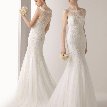 Свадебное платье Iker от Rosa Clará Soft