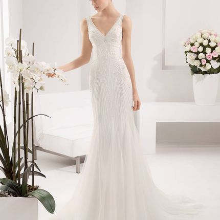 Свадебное платье Paisaje от Alma Novia
