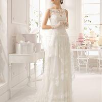 Свадебное платье Abad от Aire Barcelona.