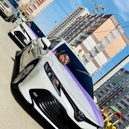 Аренда кортежа из новых Тойота Камри