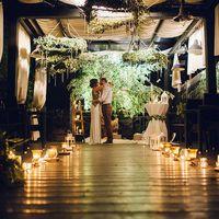 Проведение вечерней свадебной церемонии