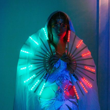 Световое шоу-танец Moon Dance