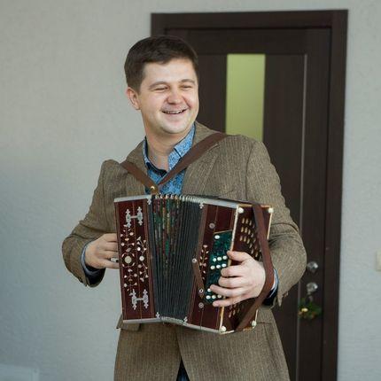 Выступление гармониста, 1 час
