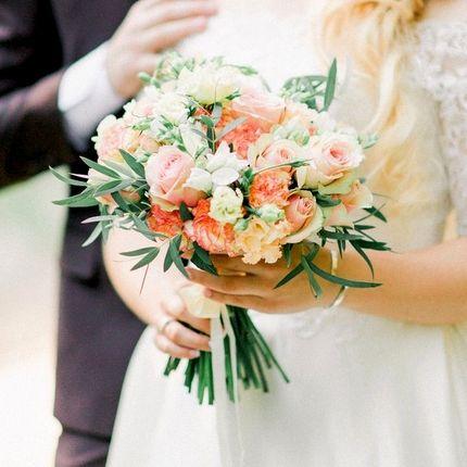 Букет для невесты в стилистике свадьбы