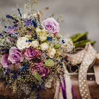 Букет невесты в стиле прованс