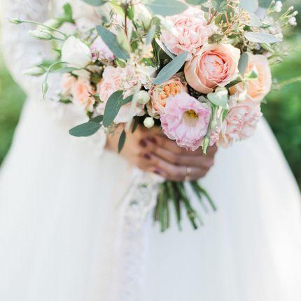 Букет для невесты в европейском стиле