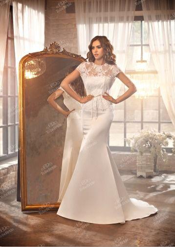 """Практичное  свадебное  платье.Чёткий  силуэт-русалка.Цена  49900  рублей. - фото 11960776 Интернет-магазин свадебных платьев """"Fleur d'Orange"""""""