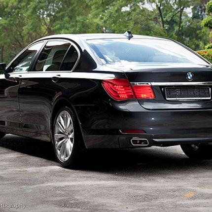 Аренда авто BMW 750Li 1 час