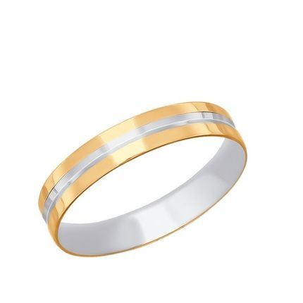 Обручальное кольцо Sokolov
