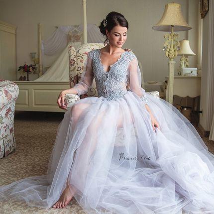 Пошив будуарного платья
