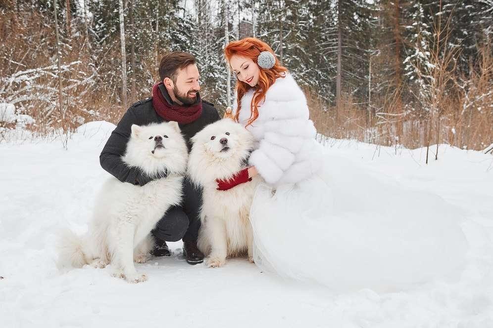 Фото 16966532 в коллекции Зимняя фотосессия. Аня и Виталий. - Фотограф Марина Арт
