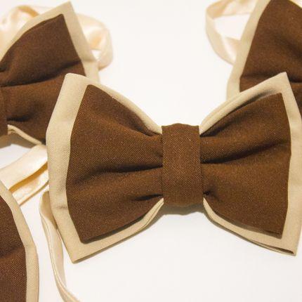 Галстук-бабочка на шоколадную свадьбу