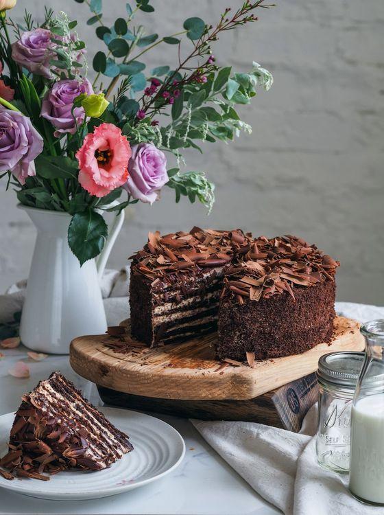Фото изысканных тортов