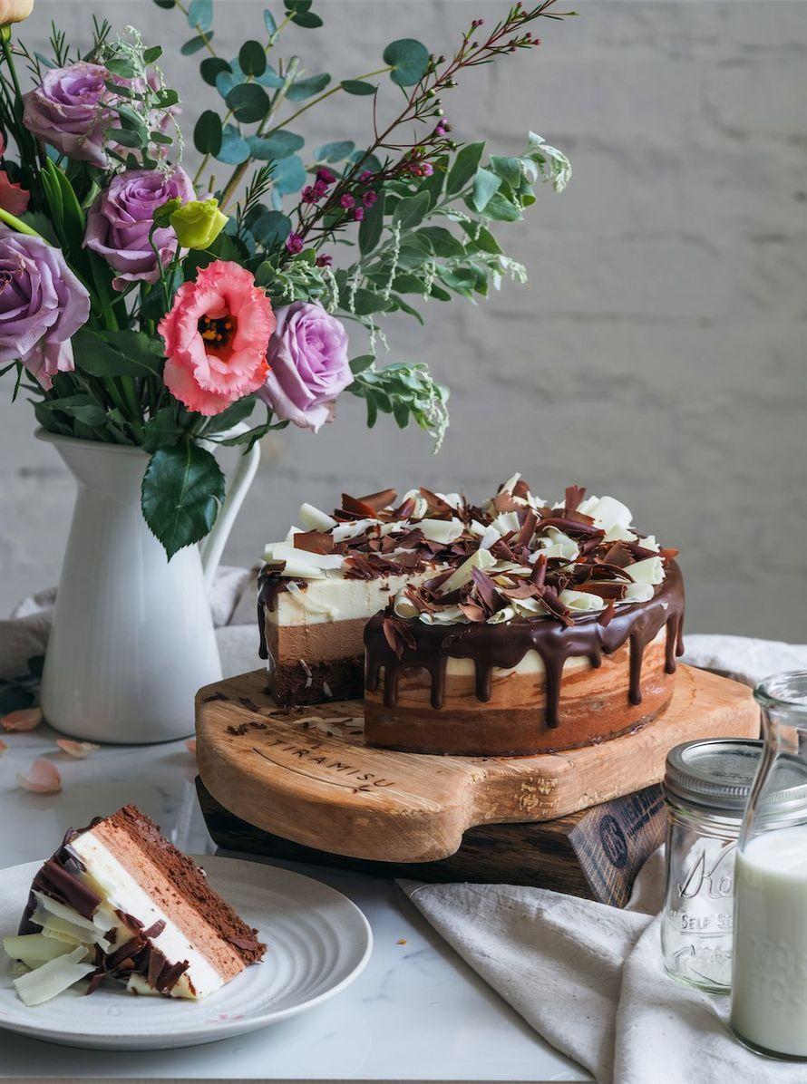 Торт Три шоколада, цена за 1 кг