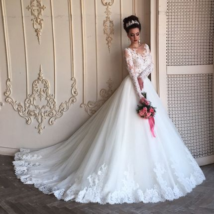 Свадебное платье Полярис Люкс