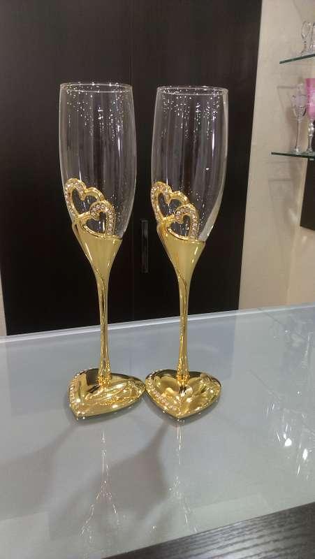 """Фото 2227900 в коллекции Свадебные бокалы,семейные очаги и банки - Магазин-салон """"Свадебный вальс"""""""