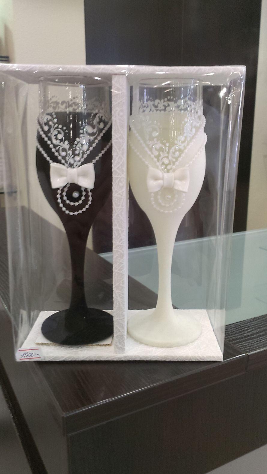 """Фото 2227930 в коллекции Свадебные бокалы,семейные очаги и банки - Магазин-салон """"Свадебный вальс"""""""