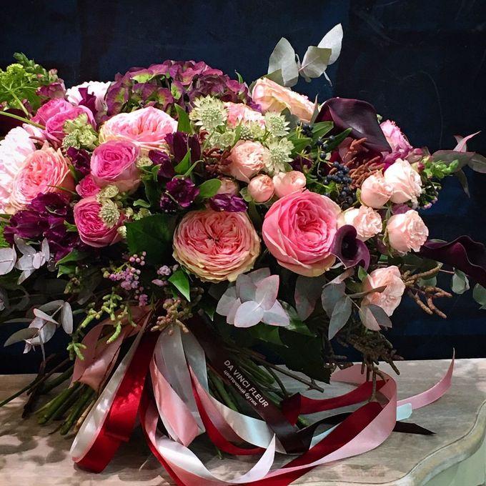 не обычные букеты цветов семья считалась