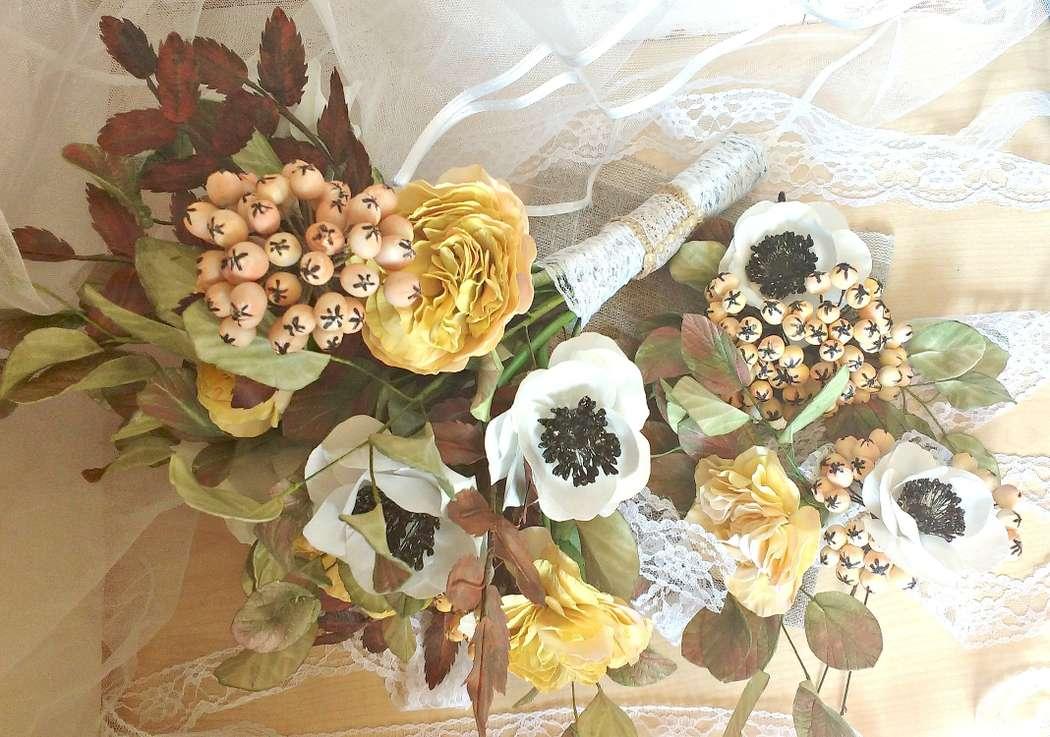 """Фото 14943058 в коллекции свадебный комплект ,,винтаж,, - Мастерская флористики """"Рodarki_irina"""""""