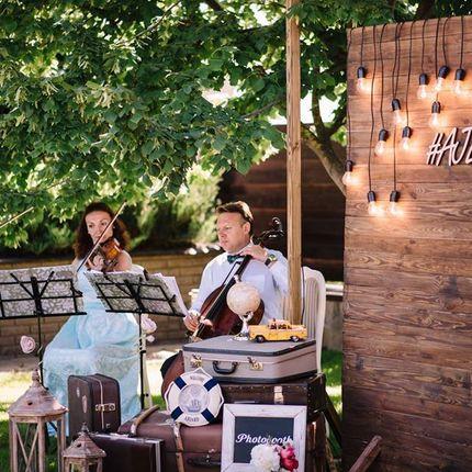 Встреча гостей под музыку струнного квартета
