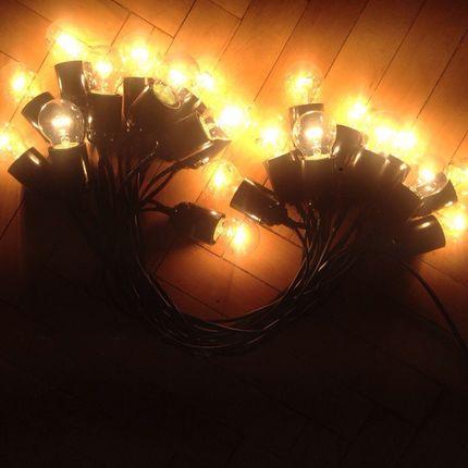 Ретро гирлянда 10 метров на 21 лампочку