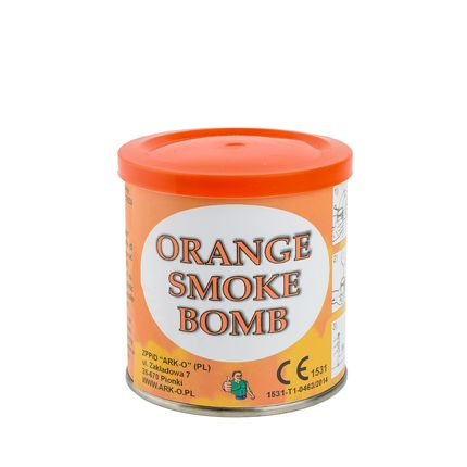 Дым Smoke bomb оранжевый