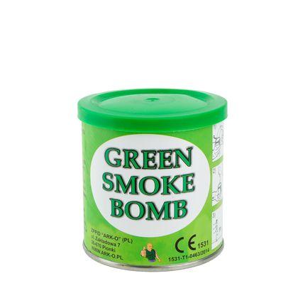 Дым Smoke bomb зеленый
