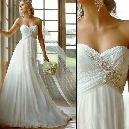 Свадебное платье - модель А001