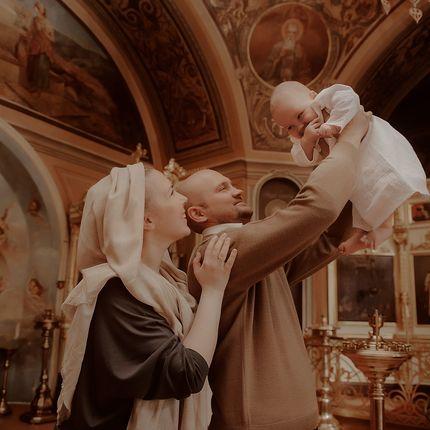 "Фотосъёмка - пакет ""Таинство крещения"""