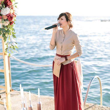 Авторская свадебная церемония на побережье