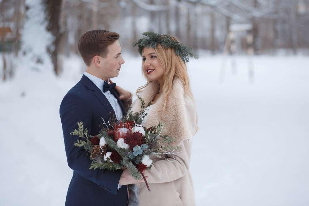 Фото 12719050 в коллекции Marsala Wedding 12/11/16 - Wood&love - студия флористики и декора
