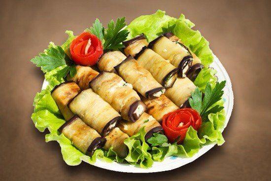 Рулетики из баклажанов - фото 13745520 Ресторан Папа Карло