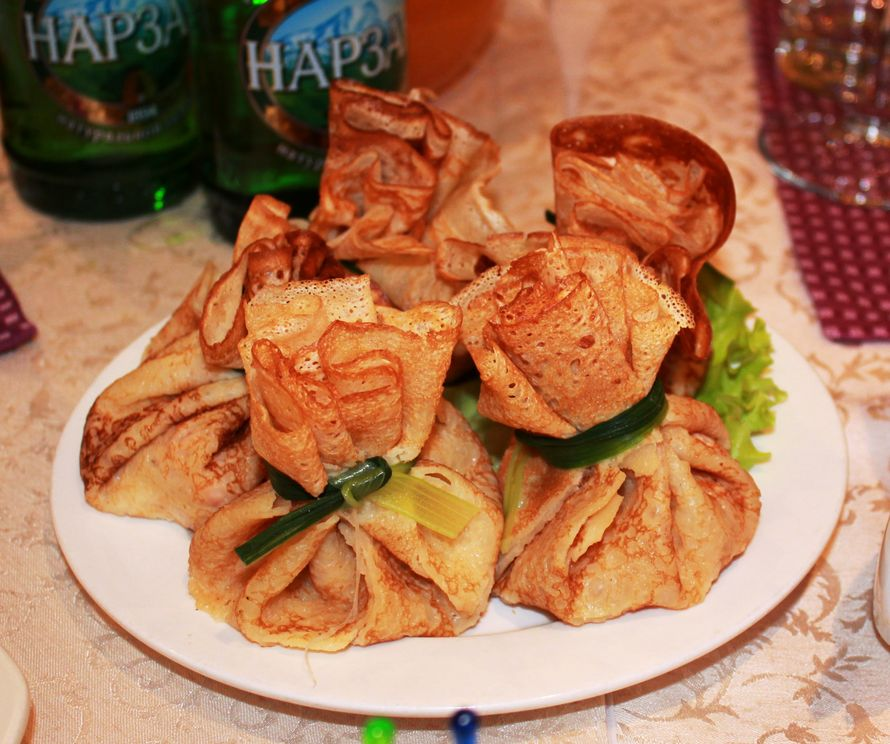 блинные мешочки - фото 13745526 Ресторан Папа Карло