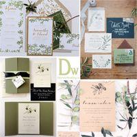 приглашения с темой оливковая ветвь, olive tree wedding