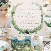 olive tree wedding inspiration